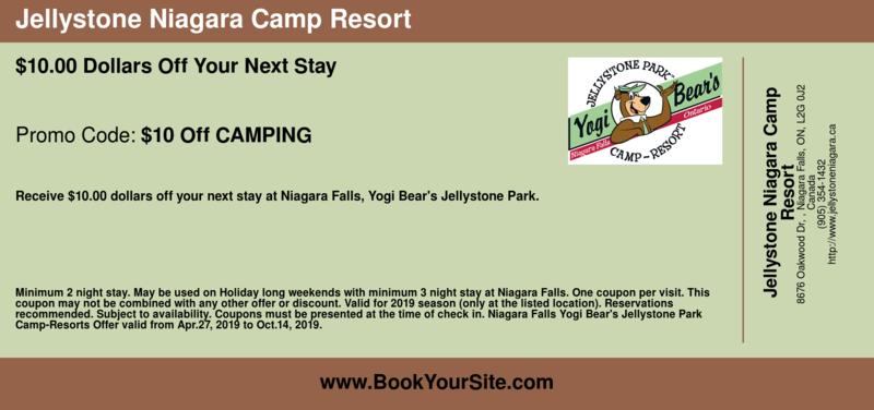 Jellystone Park Niagara Falls Campgrounds & RV | BookYourSite