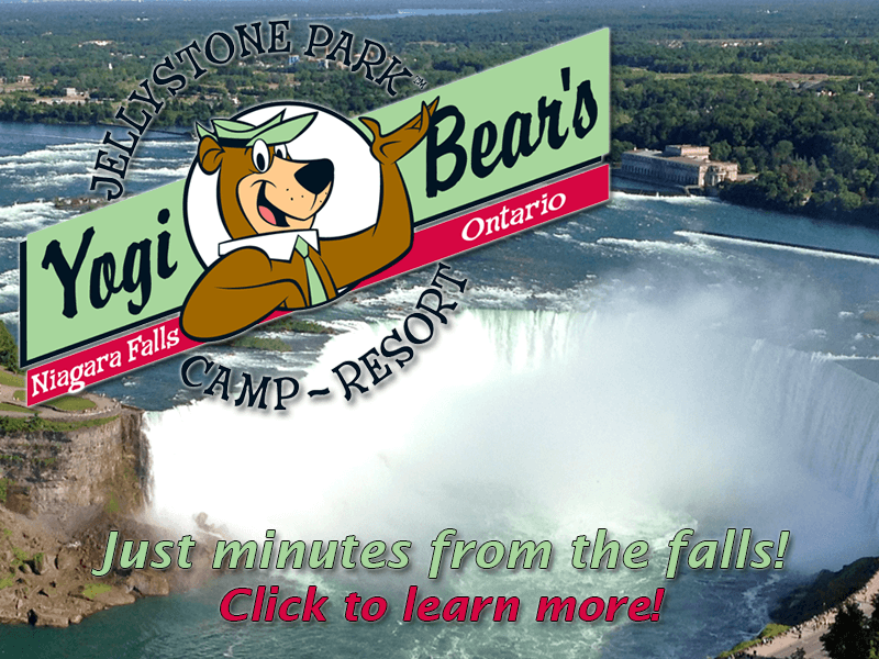 Jellystone Niagara Camp Resort. Click for details about this park and see their personal website!