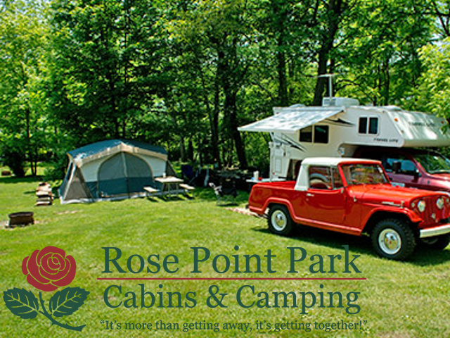 Rose Point Park - Cabins And Camping. Click for details about this park and see their personal website!