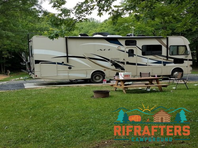 Rifrafters Campground. Click for details about this park and see their personal website!