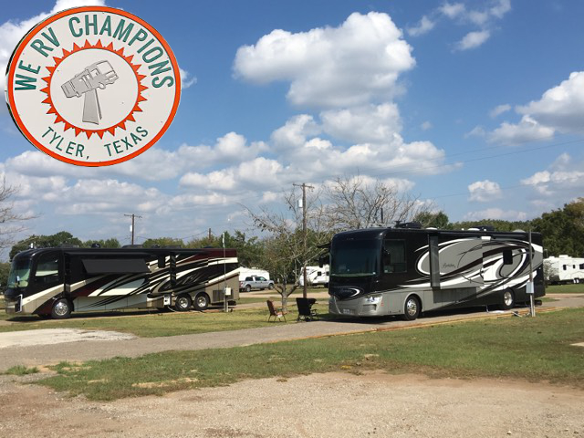 We RV Champions Of Tyler. Click for details about this park and see their personal website!