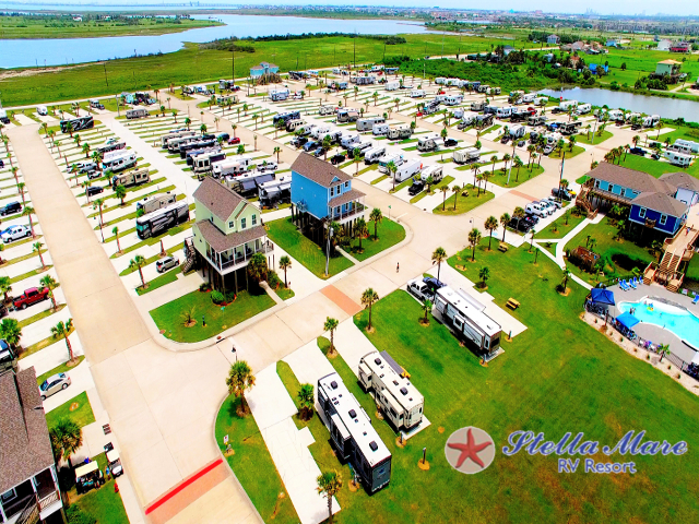 South central texas area    stella mare rv resort