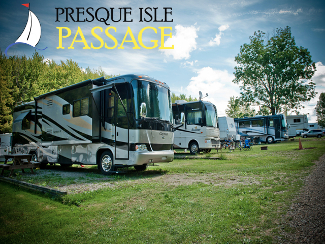 Presque Isle Passage RV Park. Click for details about this park and see their personal website!