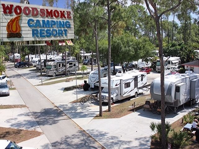 Southeast   woodsmoke camping resort