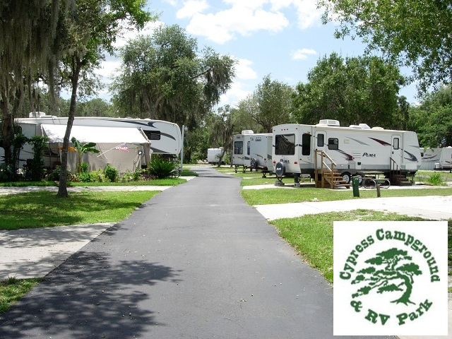 Cypress Campground And RV Park. Click for details about this park and see their personal website!