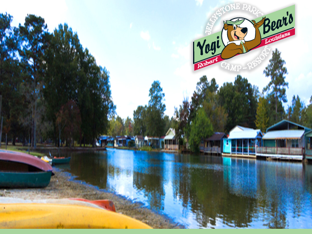 YOGI BEAR'S JELLYSTONE PARK #121. Click for details about this park and see their personal website!