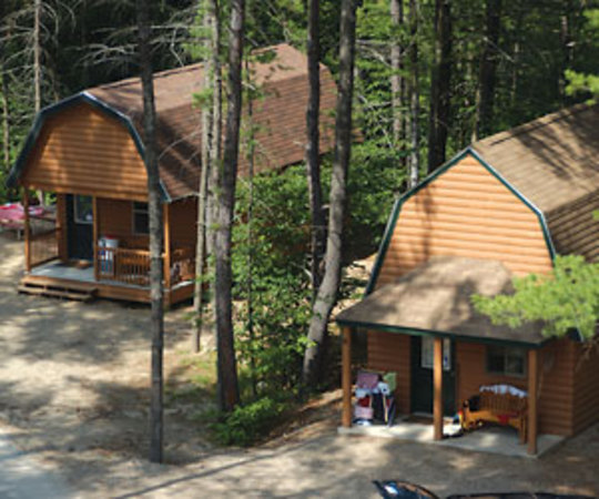 Danforth bay camping resort bookyoursite for Cabin camping new hampshire