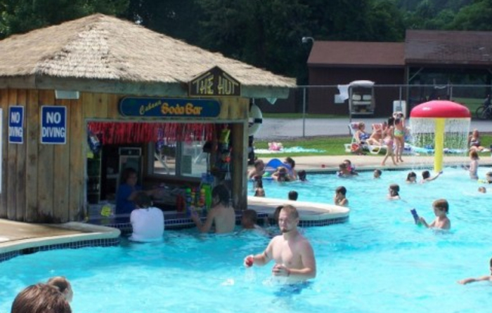 campground with pool in pennsylvania