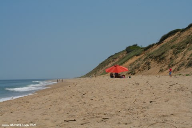 Beach Camping Cape Code North Truro Mass