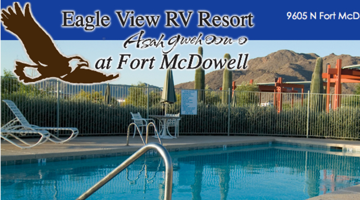rv park with pool in fort mcdowell