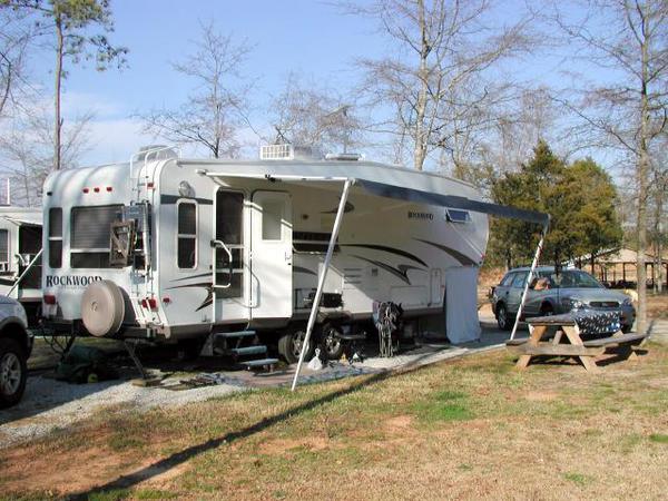 rv camping in south carolina