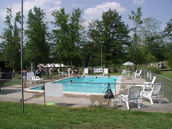 campgrounds with pool in kinards