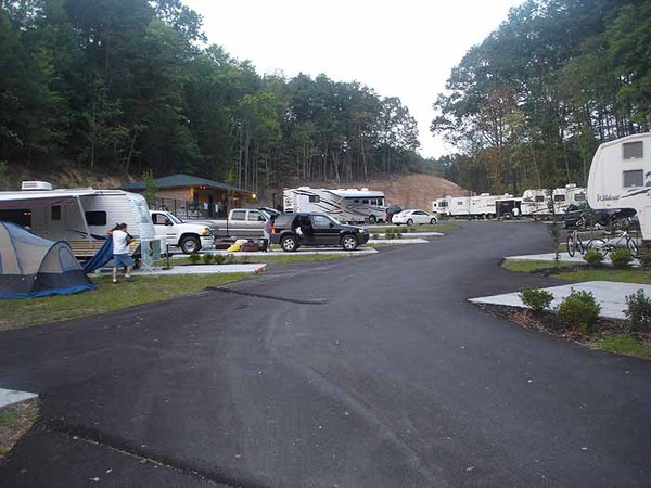 campgrounds in tn