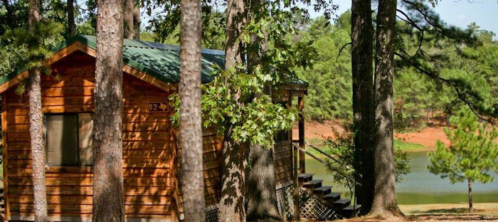 Campground in East Texas Jellystone Park