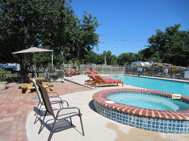 campground with pool in corpus christi