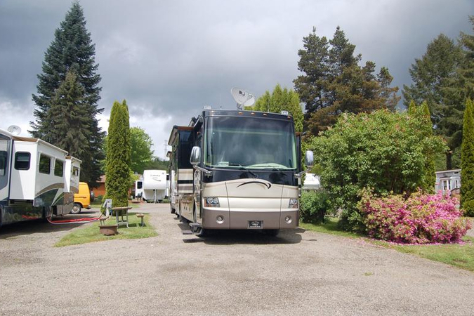 mayfield lake waterfront rv sites