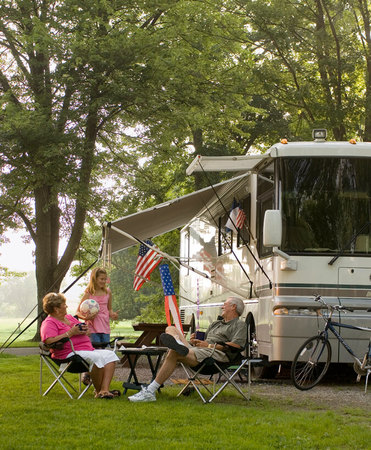 RV sites perfect for a family trip