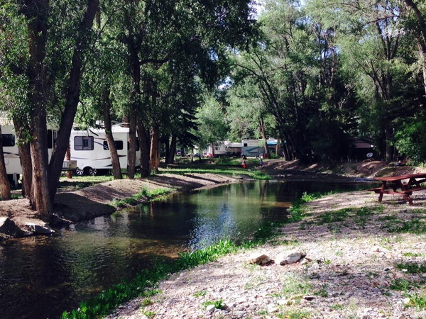 rv campgrounds on red river