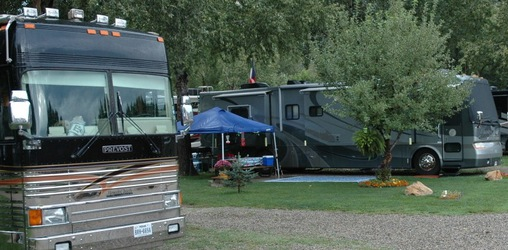 rv camping in dolores river