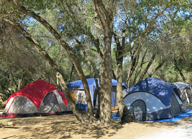 tent sites in coarsegold ca