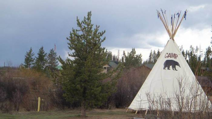 rent a tipi at elk creek campground