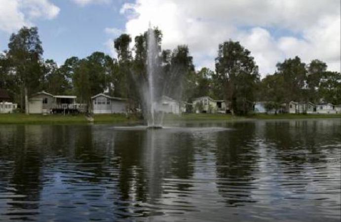 lakefront rv sites fl