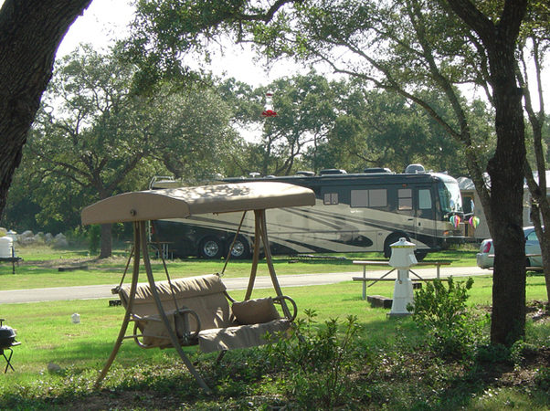 trailer camp sites in texas