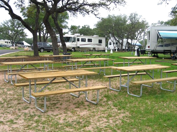 la hacienda campground in austin