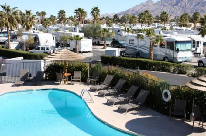 campground with pool near las vegas