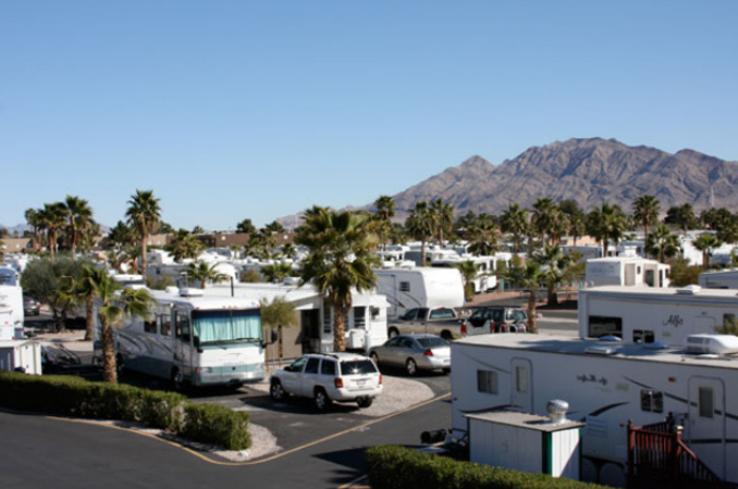 rv campgrounds in las vegas