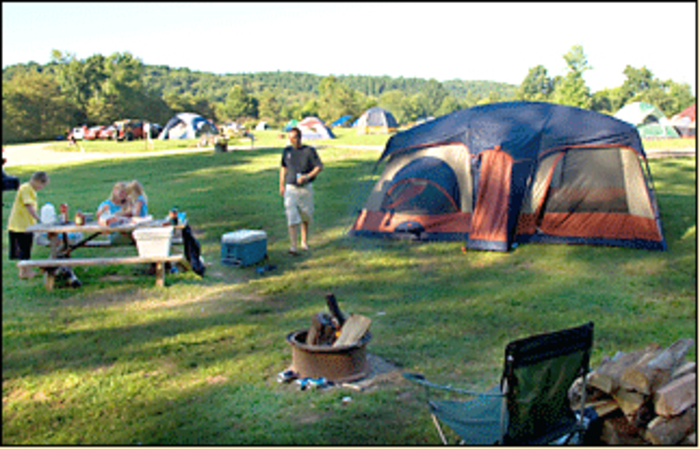 tent sites near ashland baloon fest
