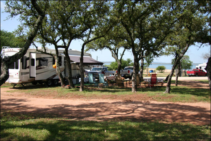 rv sites in burnet