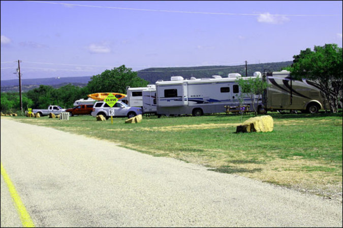 waterfront rv sites on lake Buchanan