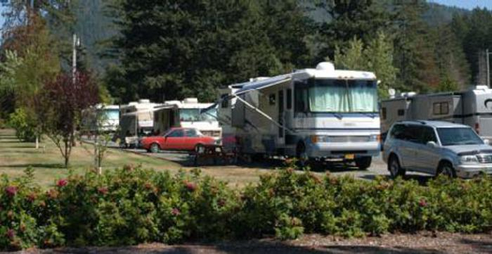 rv camping in crescent city