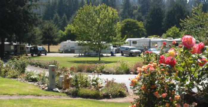 camp sites for rvs near jedediah smith state park