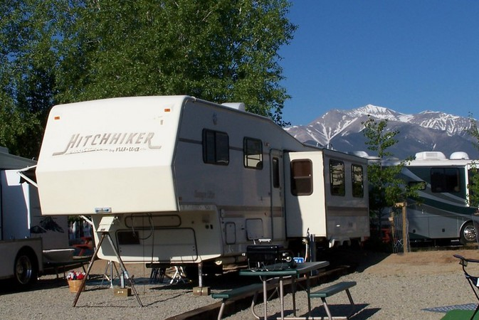 trailer park on chalk creek colorado