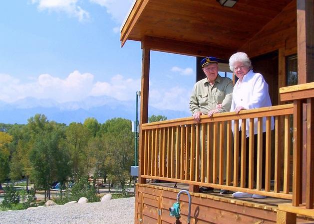 rental cabins near Arkansas River Valley