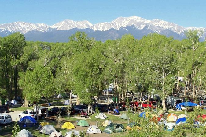 tent camping in colorado