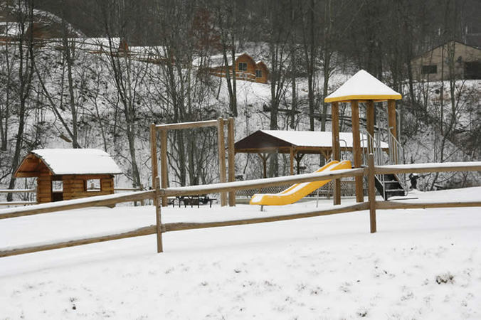 campgrounds open in winter in wv