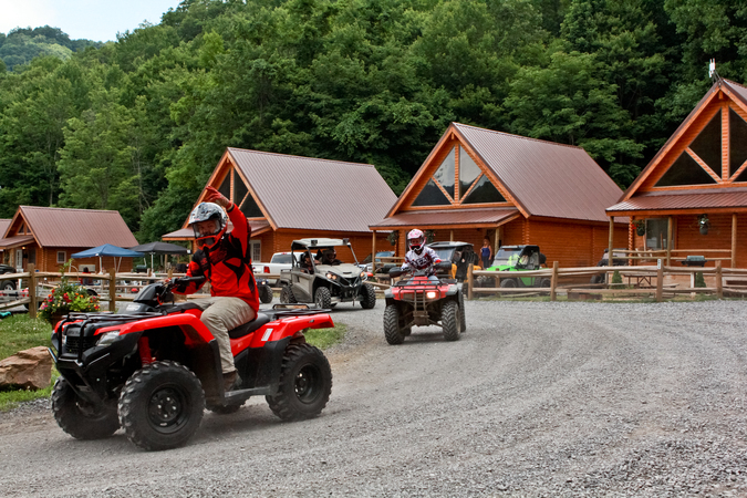campgrounds with atv trails in wv