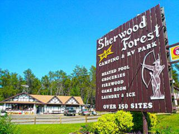 sherwood forest camping