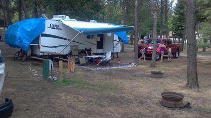 rv park sherwood forest wi