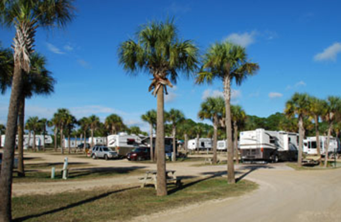 rv beach sites in florida