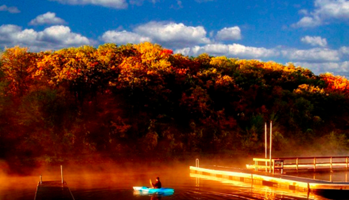 St. Croix Bluffs boat launch campground