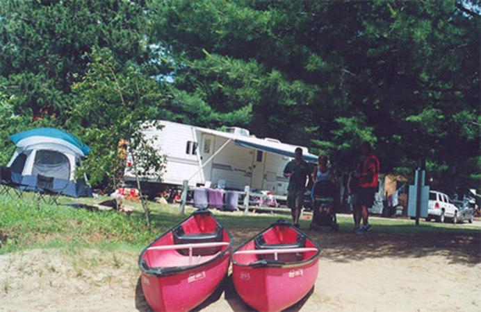 camping in Adirondack
