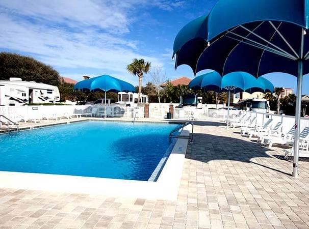 camp gulf swimming pool