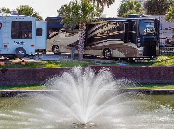 rv sites in camp gulf florida