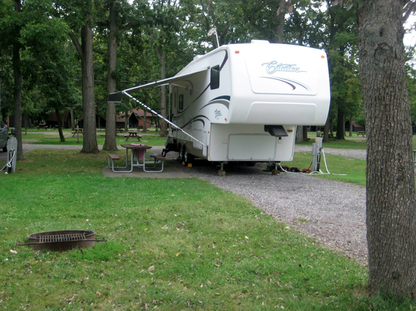 camp sites in Niagara Falls campground RV