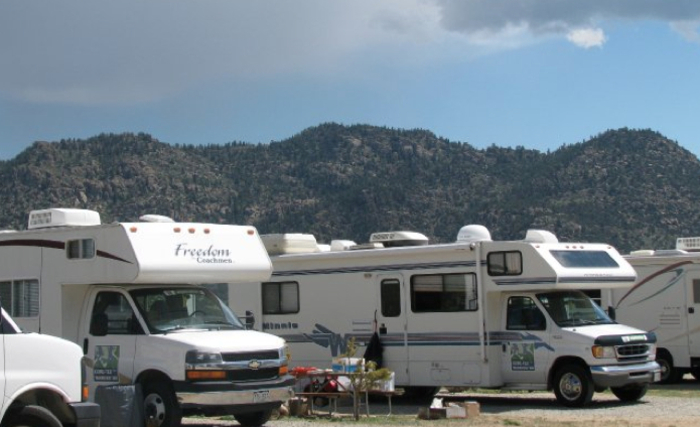 campground rv sites in buena vista colorado