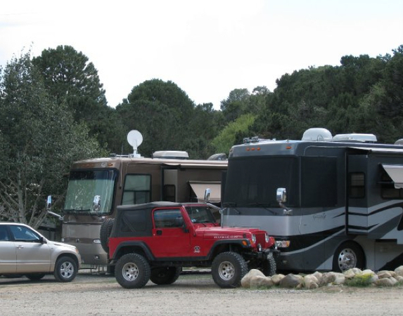 big rig camp sites in buena vista